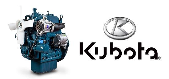 """""""Kubota Diesel"""" variklis"""