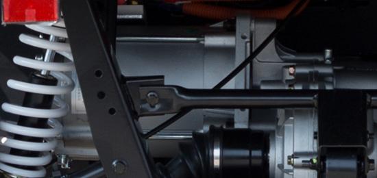 Triukšmo nekeliantis elektrinis variklis
